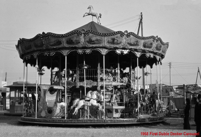 1968: First Duble Decker Carousel